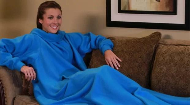 O cobertor com mangas ganhou milhões  (Foto: Divulgação)