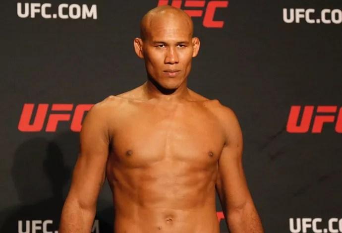 Ronaldo Jacaré Tomada de Peso UFC 208 (Foto: Evelyn Rodrigues)