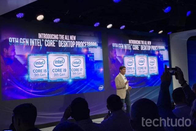 Intel revela processadores Coffee Lake Refresh com ficha técnica poderosa — Foto: Anna Kellen Bull/TechTudo