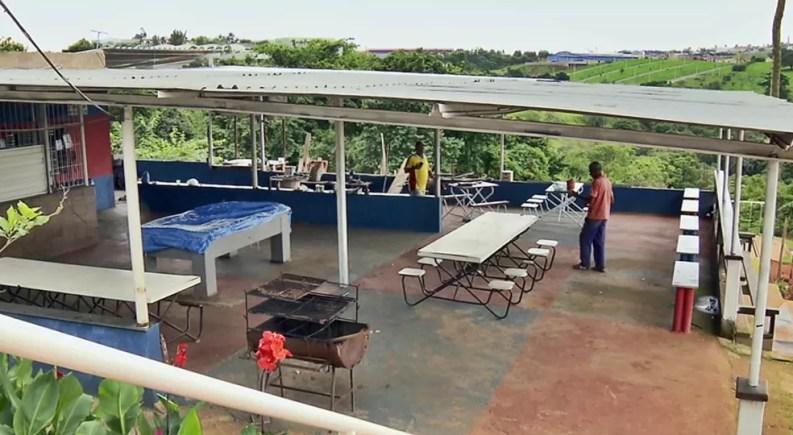 Apac negou que local em que Bruno teria se encontrado com mulheres seja um bar — Foto: Reprodução EPTV
