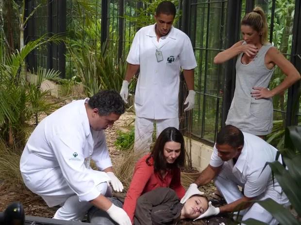 #ForçaMarrentinha! Será que Lia vai ficar bem! Tem que torcer, glr! (Foto: Malhação / Tv Globo)