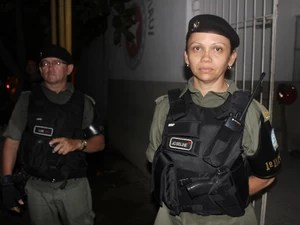 Major Joseline Gomes, da Polícia Militar (Foto: Ellyo Teixeira/G1)