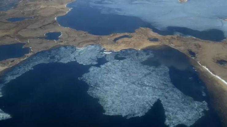 O Ártico é uma das partes do mundo mais vulneráveis às mudanças climáticas — Foto: Getty Images via BBC