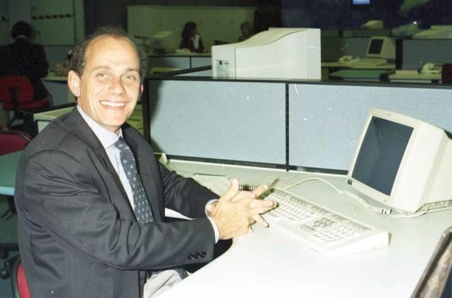 Ricardo Boechat — Foto: Acervo TV Globo