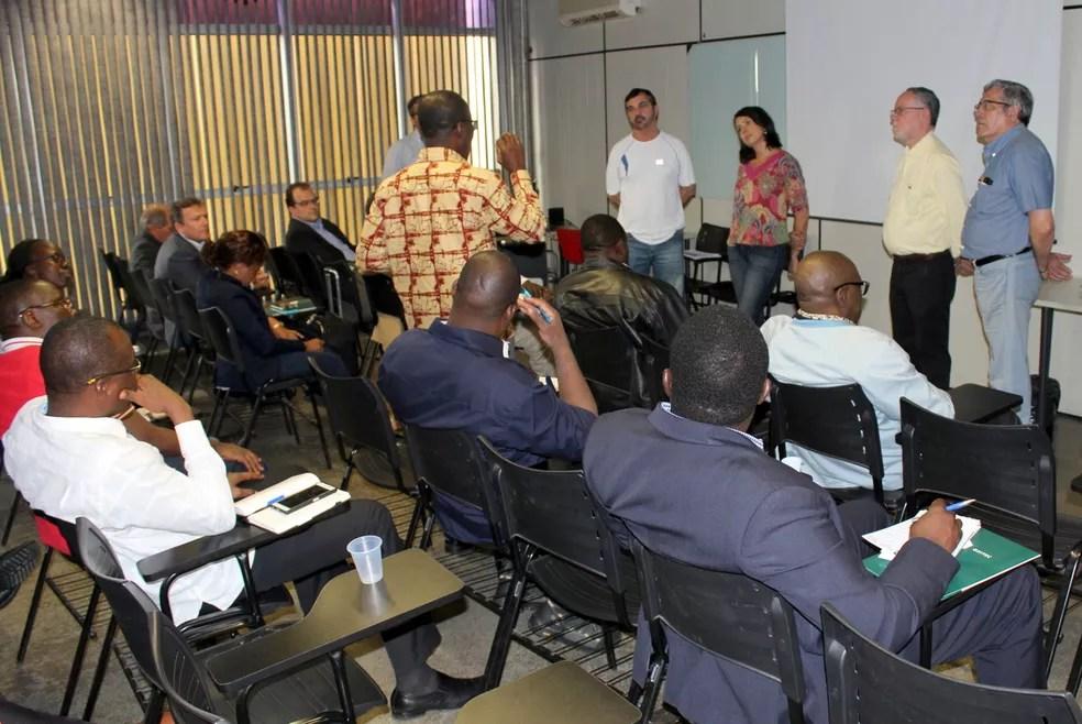Cientistas africanos visitaram Piracicaba para conhecer projeto Aedes do Bem (Foto: Oxitec/Prefeitura de Piracicaba)