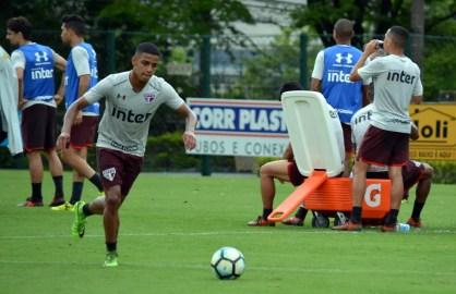 Brenner deve ter bastante espaço no São Paulo em 2018 (Foto: Erico Leonan/saopaulofc.net)