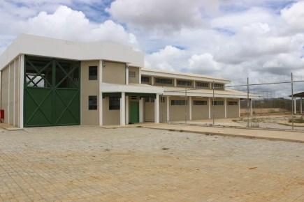 Penitenciária de segurança máxima. em Tacaimbó — Foto: Divulgação/Assessoria