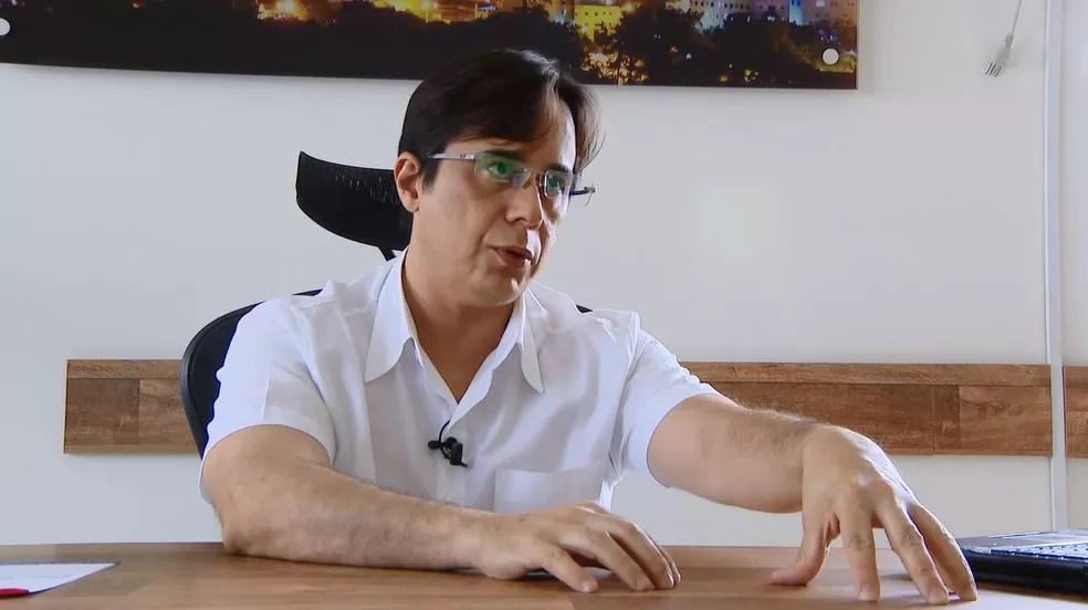 Para o presidente da Comissão de Saúde da Câmara de Divinópolis, Delano Santiago, ainda faltam R$ 100 milhões (Foto: TV Integração/Reprodução)