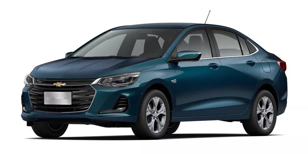 Chevrolet Ônix Plus - prêmio do sorteio do Cartola PRO 2019 (imagem meramente ilustrativa) — Foto: Divulgação