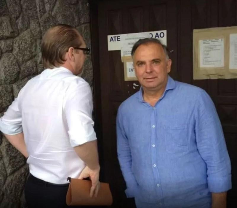 Ex-deputado Pizzolatti — Foto: Eduardo Cristófoli/NSC TV