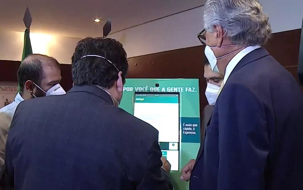 Governo lança plataforma online para otimizar a prestação de serviços públicos, em Goiás — Foto: Reprodução/Governo do Estado de Goiás