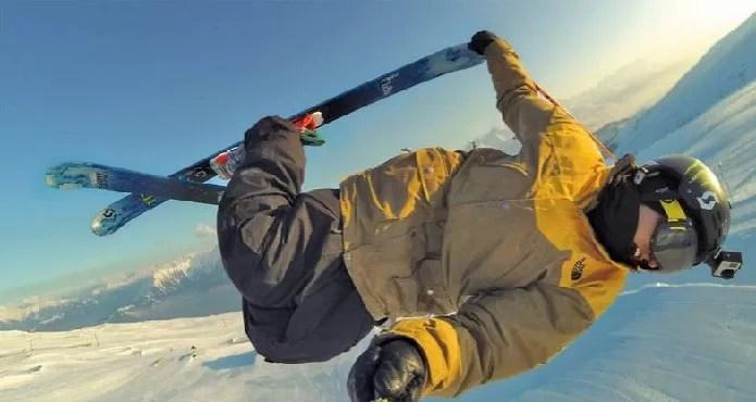 A câmera Go Pro é muito utilizada em esportes radicais (Foto: Divulgação/Go Pro)