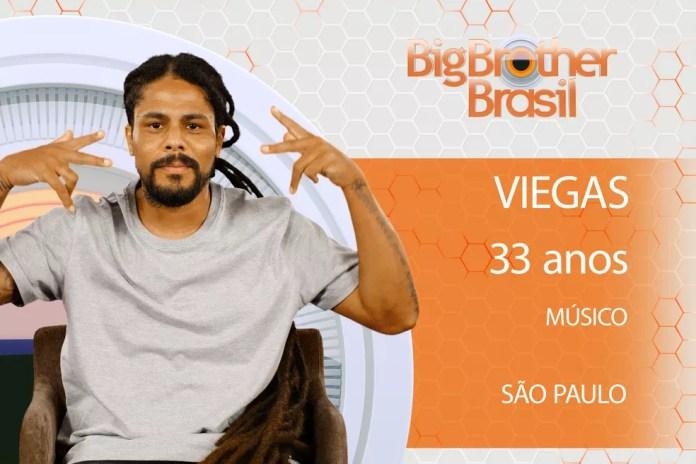 Músico paulistano Viegas participará do 'BBB18' (Foto: Divulgação)