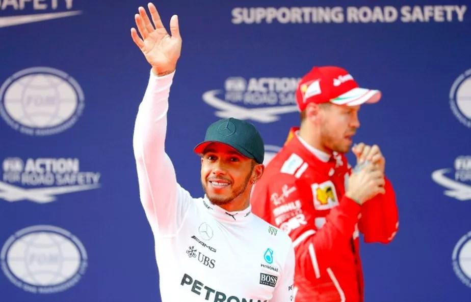Sob chuva? Hamilton x Vettel terá novo capítulo no GP da China