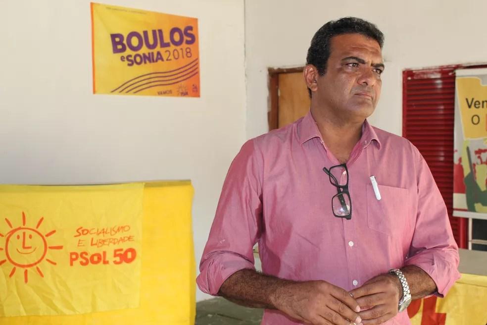 Pimenta de Rondônia disputará o governo de RO pela segunda vez pelo PSOL (Foto: Pedro Bentes/G1)