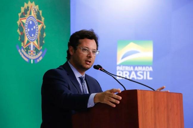O secretário de Comunicação Social da Presidência da República, Fábio Wajngarten — Foto: Anderson Riedel/PR