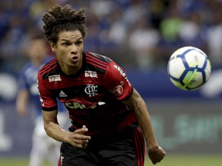Willian Arão tem contrato com o Flamengo até dezembro de 2019 e ainda não decidiu o futuro — Foto: Staff Images/Flamengo