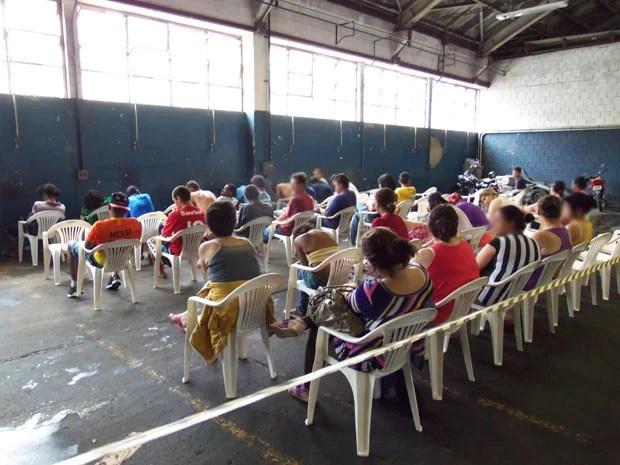 Operação prendeu 62 pessoas em Esteio e Sapucaia do Sul (Foto: João Laud/RBS TV)