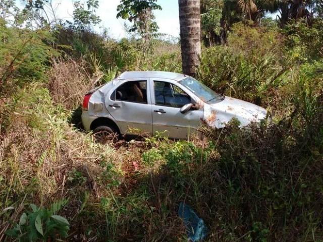 Acidente que menina de cinco anos morreu em Tupaciguara (Foto: PMR/Divulgação)