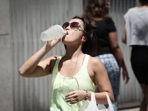 São Paulo teve mais um dia de calor e temperatura máxima na cidade nesta terça-feira (13) chegou a 34,2º às 15h (Foto: Caio Kenji/G1)