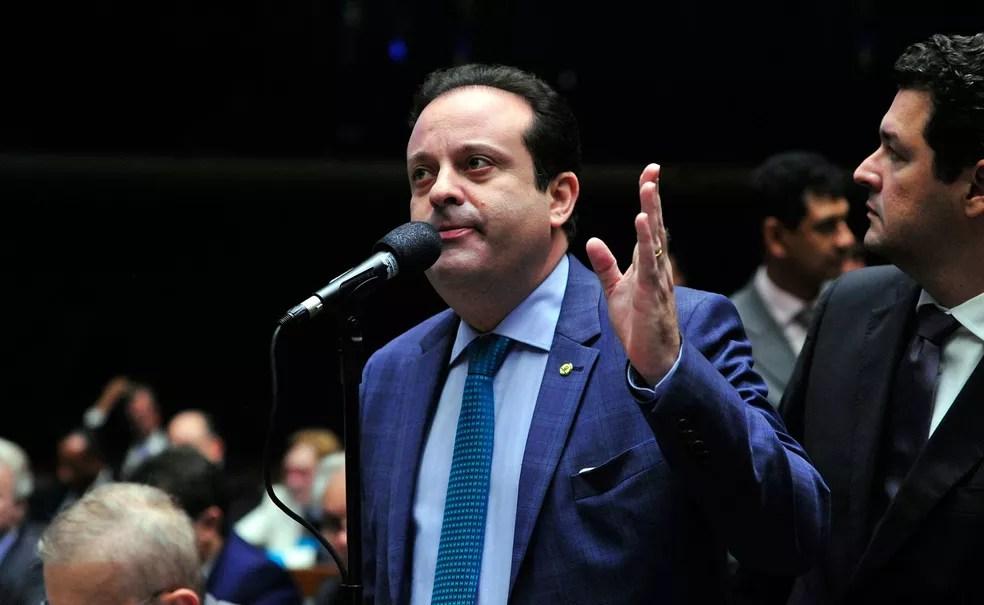 O líder do governo no Congresso, deputado André Moura (PSC-SE) (Foto: Luis Macedo / Câmara dos Deputados)