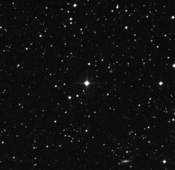 Estrela HIP 68468, a 300 anos-luz de distância da Terra.