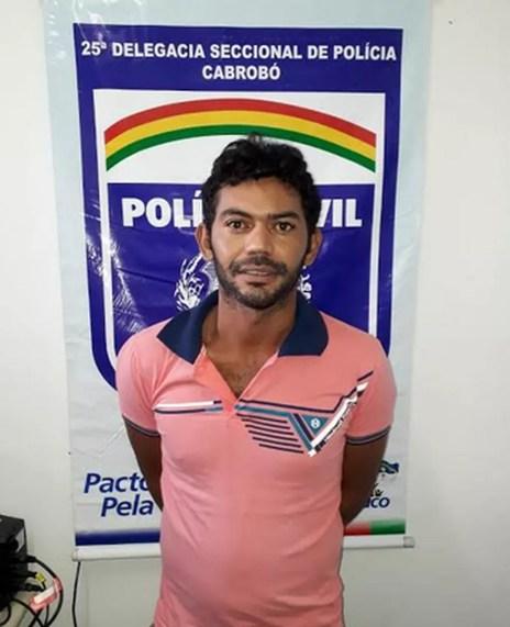 Homem é preso por homicidio em Cabrobó (Foto: Divulgação/ Polícia Civil )