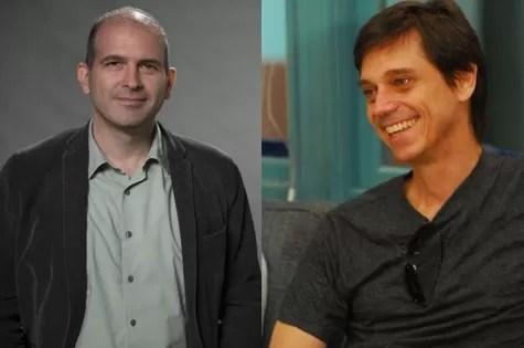 Marcos Bernstein e Ricardo Hofstetter (Foto: TV Globo)