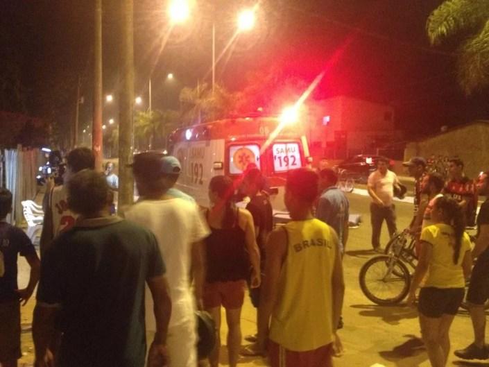 Rio Branco registrou três homicídios na noite de sábado (5) (Foto: Simone Oliveira/Arquivo Pessoal)