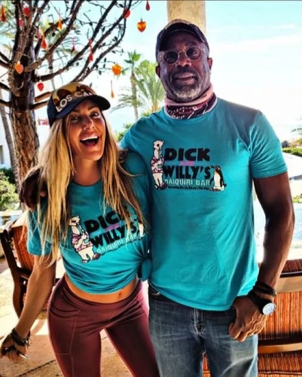 Comedian Kate Quigley and musician Darius Huker (Photo: instagram reproduction)