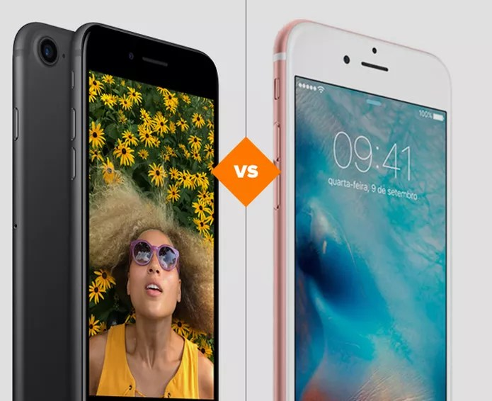 iPhone 7 ou iPhone S: veja qual celular da Apple tem ficha técnica mais vantajosa (Foto: Arte/TechTudo)