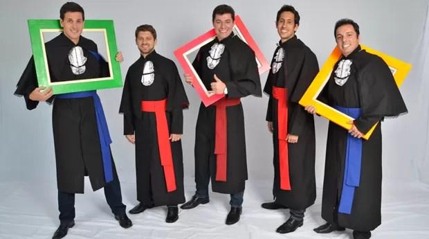 Os sócios Marcelo Gonçalves (30), Vitor Pedrosa (31), Fernando Sotrate (31), Renato Filgueiras (31) e Mylliano Salomão (33) (Foto: Divulgação)