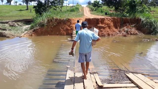 Recomendação é para garantir a boa saúde dos moradores da região. — Foto: Luiz Martins/Rede Amazônica