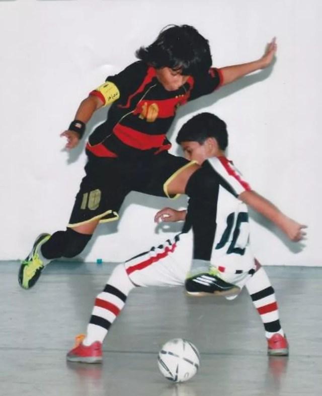 Rotina no Sport não foi diferente: títulos, gols e a faixa de capitão — Foto: Arquivo pessoal