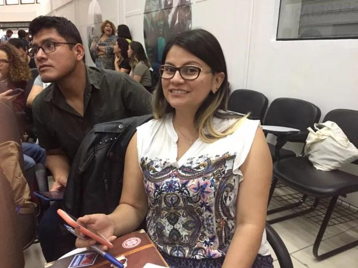Boliviana que vai participar do Mais Médicos em São Paulo — Foto: Paula Paiva Paulo/G1