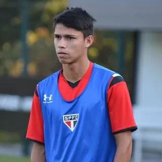 Luiz Araújo São Paulo (Foto: Site oficial do SPFC)