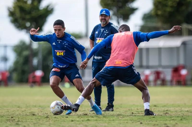 Jadsom, Ederson Moreira, Cruzeiro — Foto: Bruno Haddad / Cruzeiro