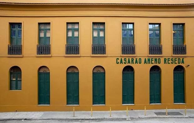Casarão Ameno Resedá, no RJ (Foto: Divulgação / Site)