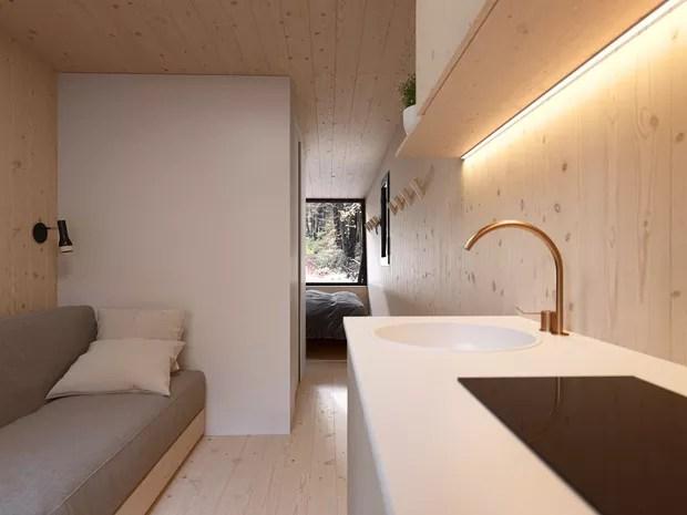 Escritório de design propõe suítes transportáveis para hotéis (Foto: Fotos Divulgação )