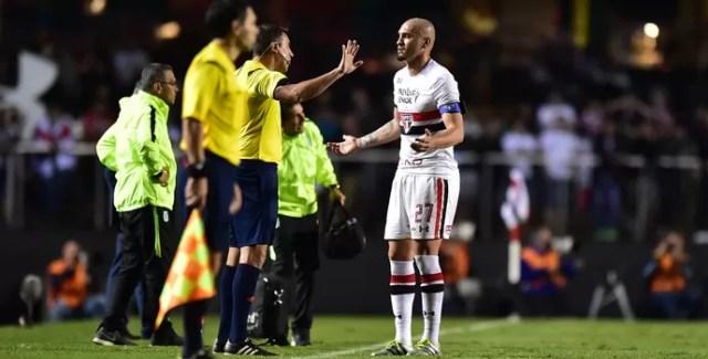 Maicon São Paulo Atlético Nacional (Foto: Marcos Ribolli)