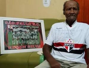 Parentes Edson Silva, São Paulo (Foto: Vital Florêncio / GloboEsporte.com)
