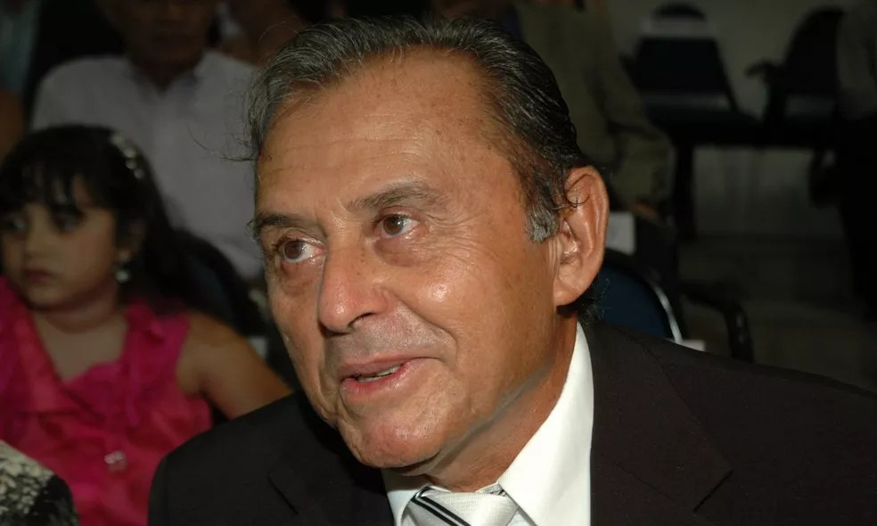 Ex-prefeito de Cabedelo, Zé Régis — Foto: Francisco França/Jornal da Paraíba