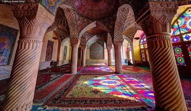 Mesquitas do Irã (Foto: Mohammad Reza Domiri Ganji/ divulgação)