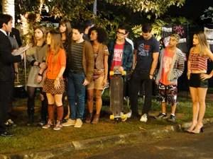 A galera do colégio Quadrante adora uma festa (Foto: Malhação / Tv Globo)