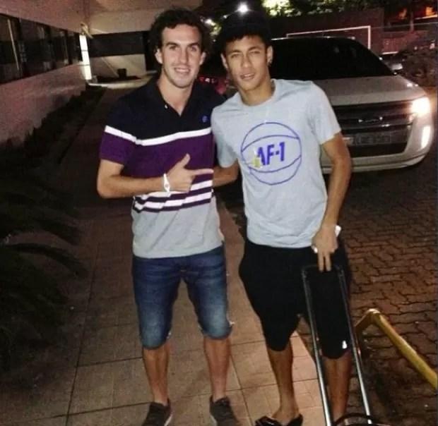 Neymar Marcos Galhardo (Foto: reprodução / Instagram / Neymar)