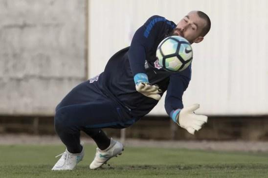 Walter, goleiro do Corinthians, é um dos nomes na mira do São Paulo (Foto: Daniel Augusto Jr/Ag. Corinthians)