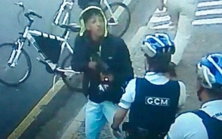 Ladrão atira contra guardas municipais em Rio Preto  (Foto: Reprodução)