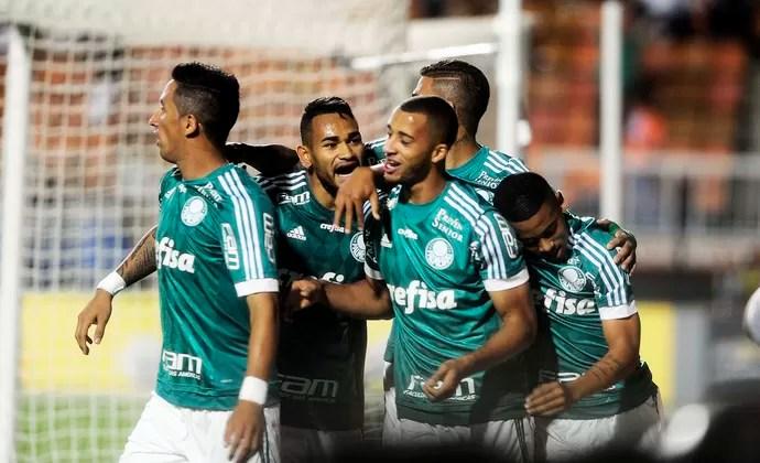 Palmeiras x Grêmio Barrios grupo (Foto: Marcos Ribolli)