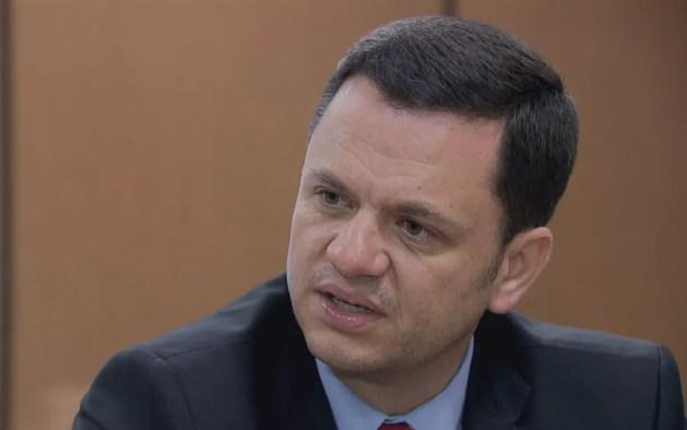 Secretário de Segurança do DF, Anderson Torres — Foto: TV Globo/Reprodução