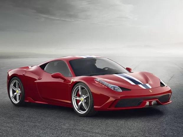 Ferrari revela a 458 Italia Speciale (Foto: Divulgação)